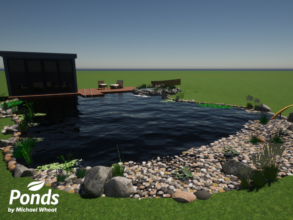 Swimpond Project – Canterbury - 3D Render