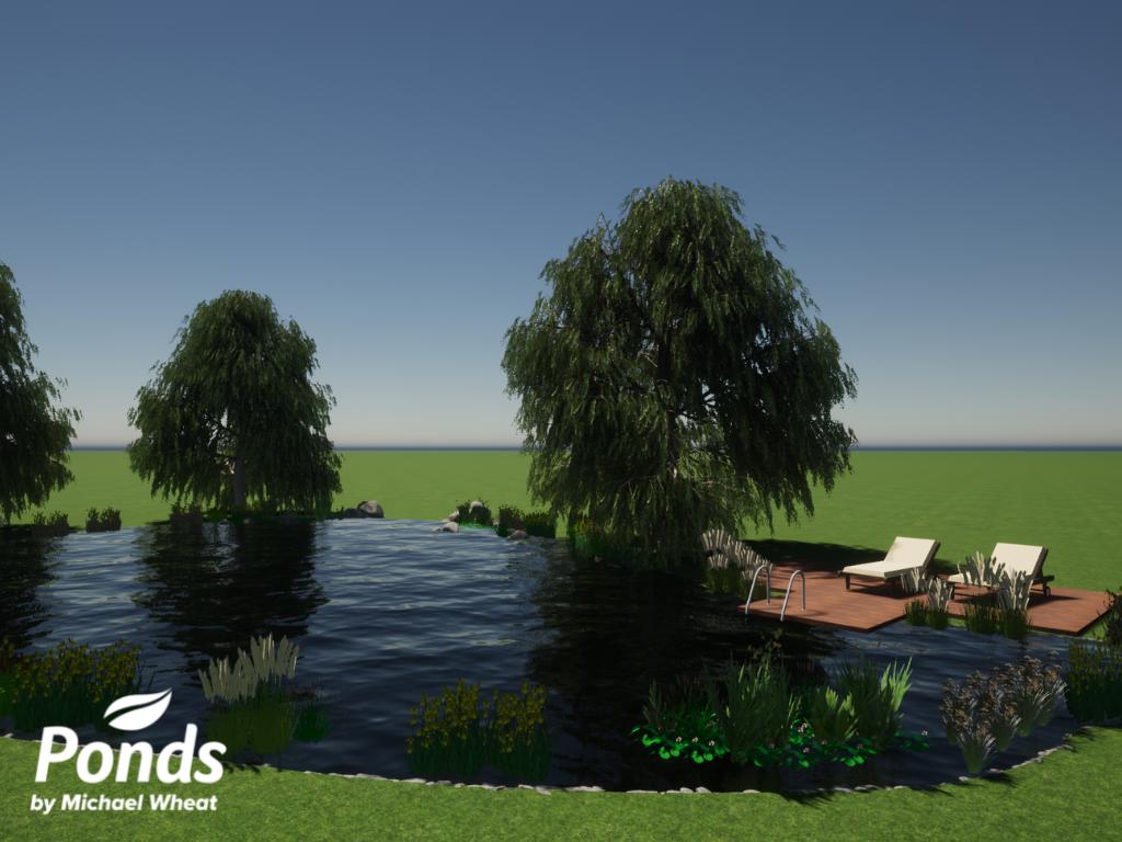 Swimpond Project - Windsor - 3D Render