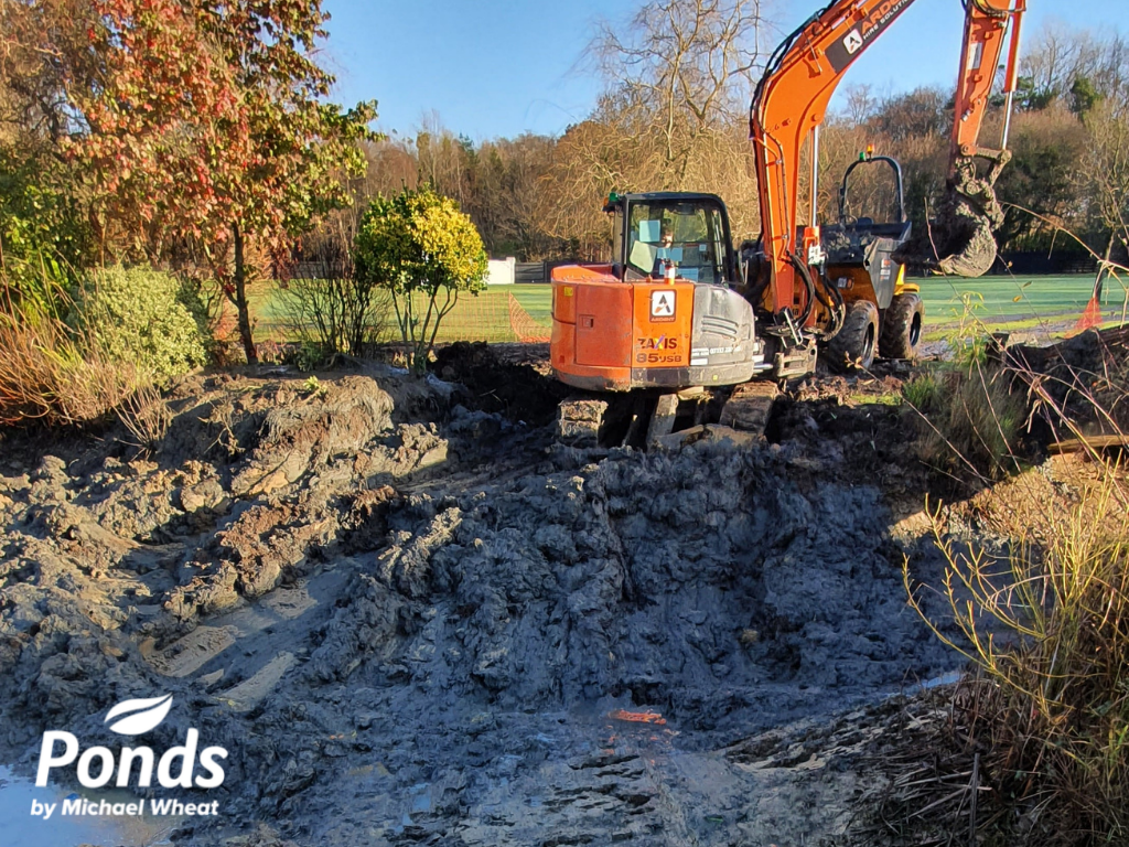 Swimpond Project - Windsor - On-Site Team At Work