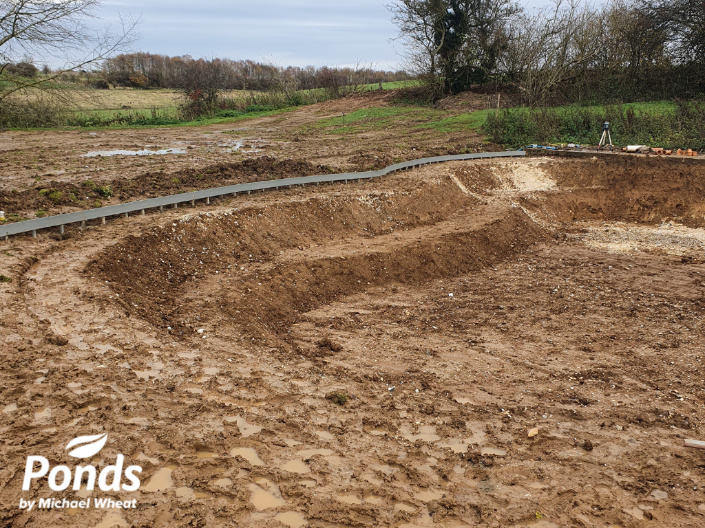 Swimpond Project – Canterbury - The Team Mapping Out The Pond
