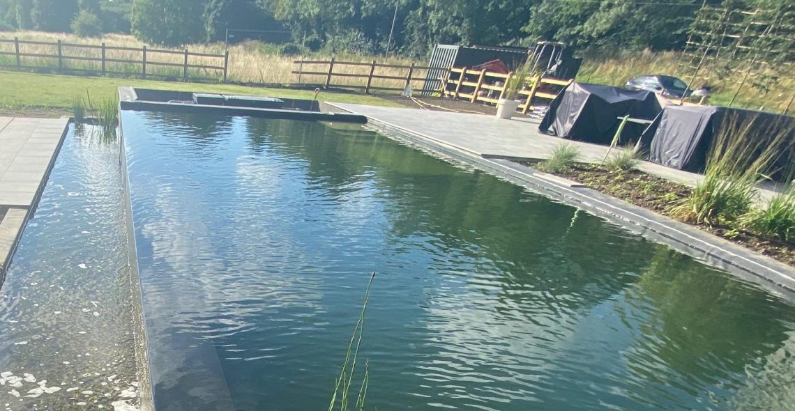 swim pond complete